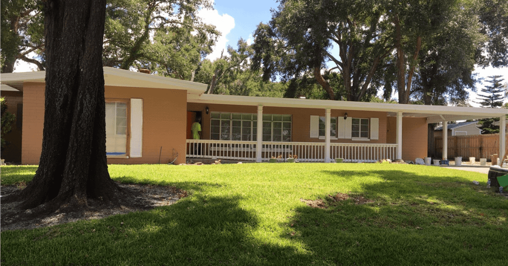 exterior house paint in Orlando